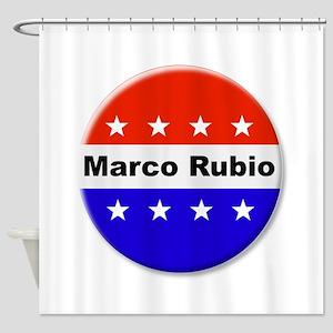 Vote Marco Rubio Shower Curtain