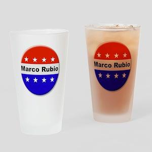 Vote Marco Rubio Drinking Glass