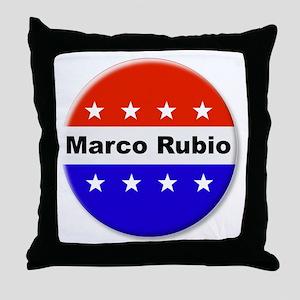 Vote Marco Rubio Throw Pillow