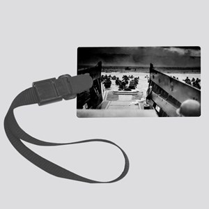 D-Day Landing Large Luggage Tag