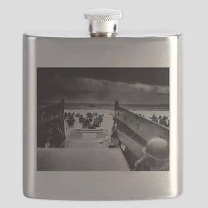 D-Day Landing Flask