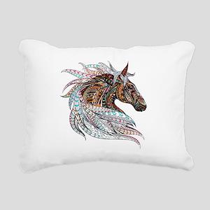 AutumnHorse Rectangular Canvas Pillow