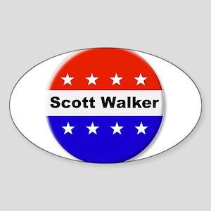 Vote Scott Walker Sticker