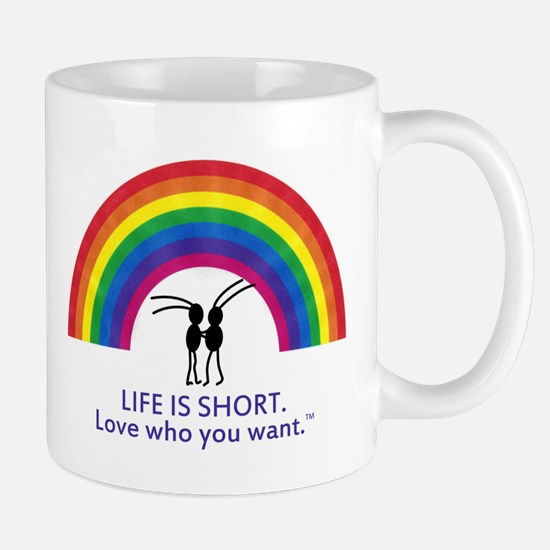 Marriage Is For Gay Lovers Mug Mugs