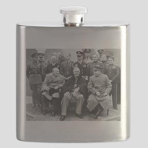 The Big Three Flask