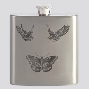 Harry Styles Tattoos Flask