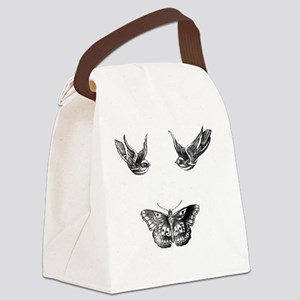 Harry Styles Tattoos Canvas Lunch Bag