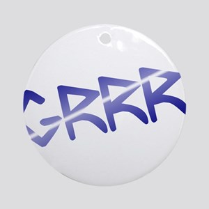 leather pride GRRR! Ornament (Round)