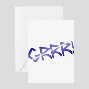 leather pride GRRR! Greeting Card
