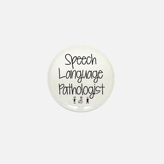 Cool Speech therapist Mini Button
