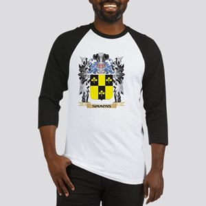Simmons Coat of Arms - Family Cres Baseball Jersey