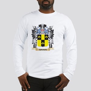 Simmon Coat of Arms - Family C Long Sleeve T-Shirt