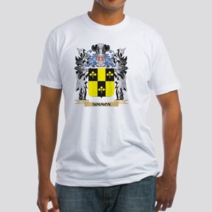 Simmon Coat of Arms - Family Crest T-Shirt