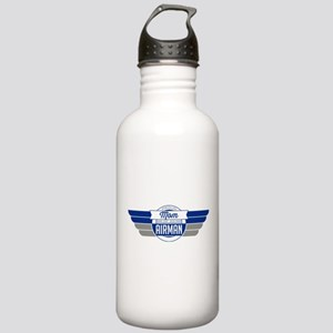 Proud Mom Of an Airman Stainless Water Bottle 1.0L