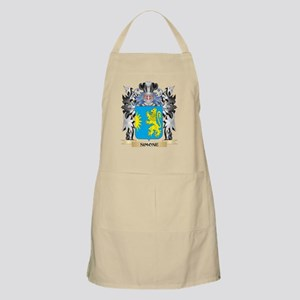 Simone Coat of Arms - Family Crest Apron