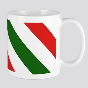Candy Cane Stripes Holiday Pattern Mug