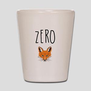 Zero Fox Shot Glass