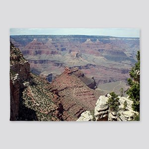 Grand Canyon South Rim, Arizona 3 5'x7'Area Rug