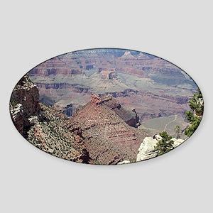 Grand Canyon South Rim, Arizona 3 Sticker (Oval)