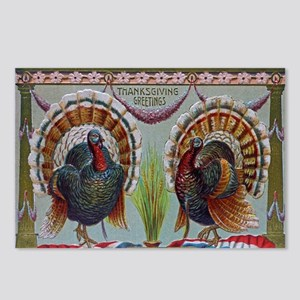 Thanksgiving Greetings 1906 Postcards (Package of