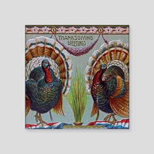 Thanksgiving Greetings 1906 Sticker