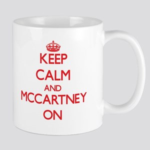 Keep Calm and Mccartney ON Large Mugs