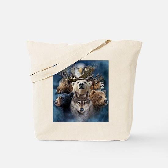 Indian Spirit Guide Tote Bag