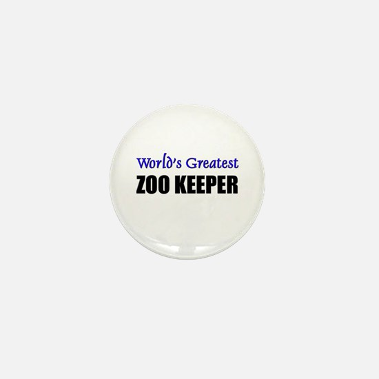 Worlds Greatest ZOO KEEPER Mini Button
