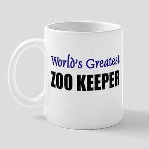 Worlds Greatest ZOO KEEPER Mug