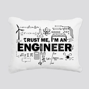 Gifts for Engineers Rectangular Canvas Pillow