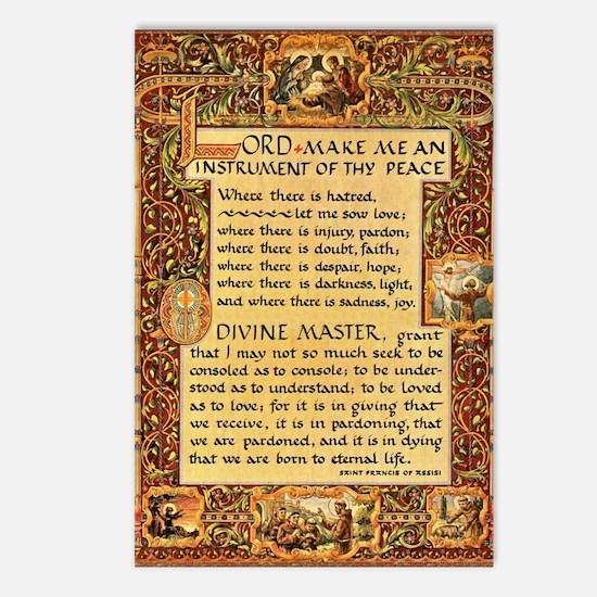 Unique Francis Postcards (Package of 8)