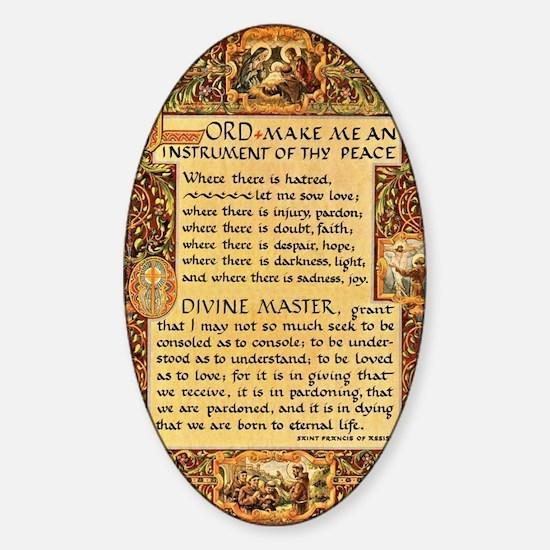 Unique Pope Sticker (Oval)