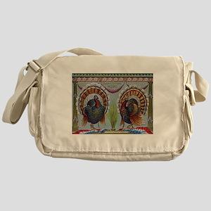 Thanksgiving Greetings 1906 Messenger Bag
