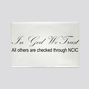 In God We Trust - NCIC Magnets