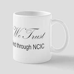 In God We Trust - NCIC Mugs