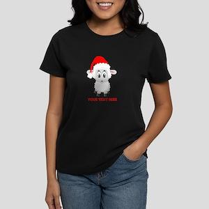 Christmas Santa Sheep Baby Women's Classic T-Shirt