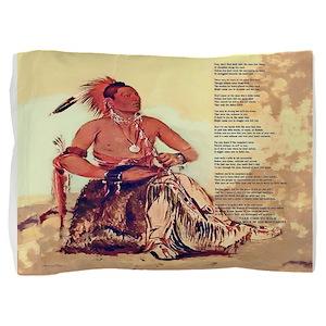 WalkAMileInMyMoccasins-queen-duvet-cover Pillow Sh