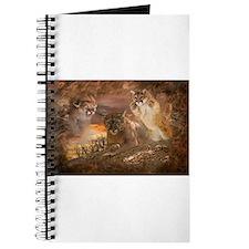 Mountain Lion Collage Journal