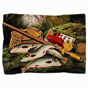 Brook Trout Pillow Sham