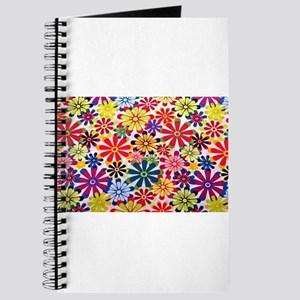 hippie-flowers-5x7rug Journal