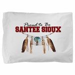 Proud to be Santee Sioux Pillow Sham