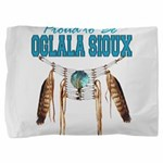 Proud to be Oglala Sioux Pillow Sham