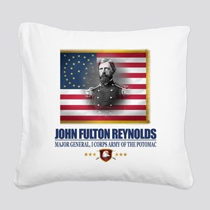 Reynolds (C2) Square Canvas Pillow