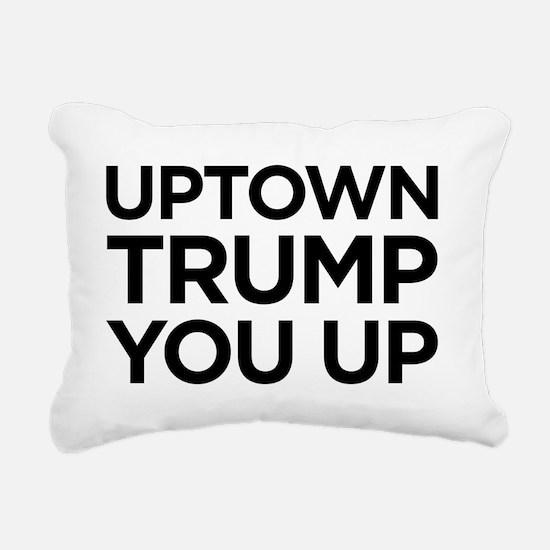 Trump you up Rectangular Canvas Pillow