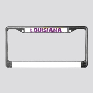 LOUISIANA NATIVE License Plate Frame