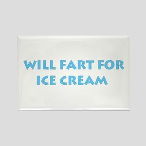 Ice Cream Farts Rectangle Magnet