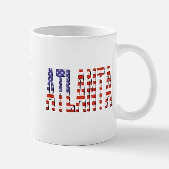 Patriotic Atlanta Mugs