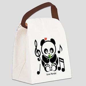 Love Panda®  Canvas Lunch Bag