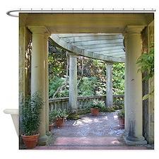 Garden Columns Shower Curtain
