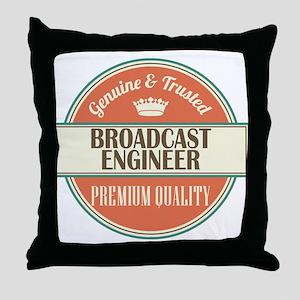 Broadcast Engineer Throw Pillow